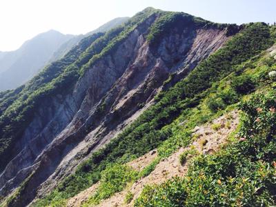 鳥取県の大山 1729m